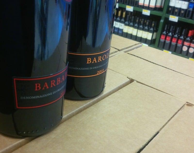 Vinhos tintos do Piemonte
