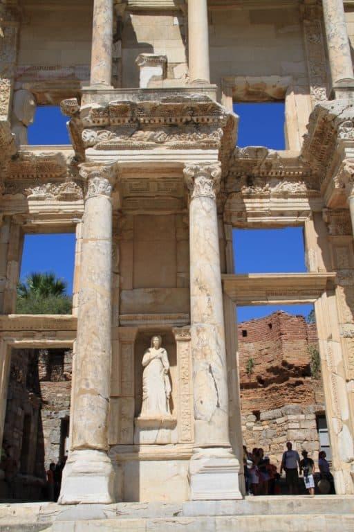 Detalhe Biblioteca de Efeso