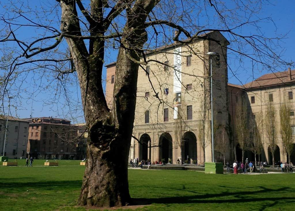 Jardins do Palazzo Pilotta