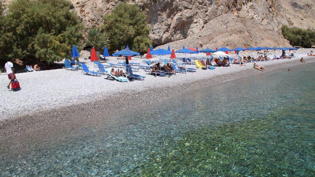 Praia de Glyka Nera - Ilha de Creta