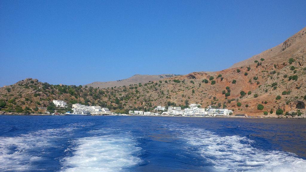 Vilarejo de Loutro - Ilha de Creta