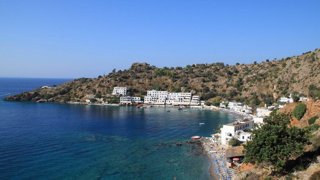 Panorama de Loutro - Ilha de Creta