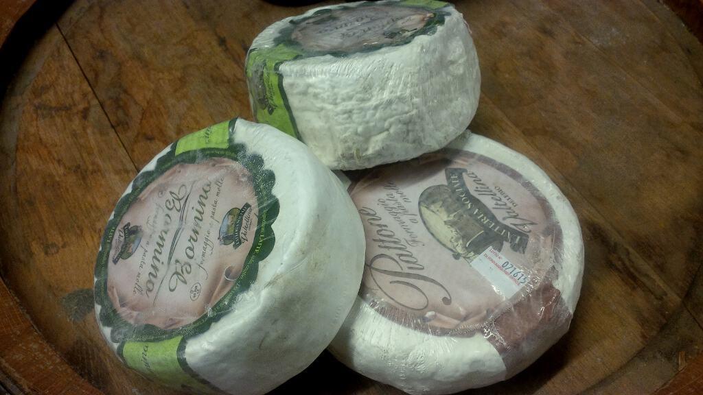 Seleção de queijos típicos da Valtellina
