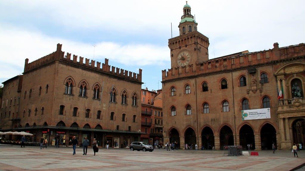 Piazza Maggiore em Bolonha