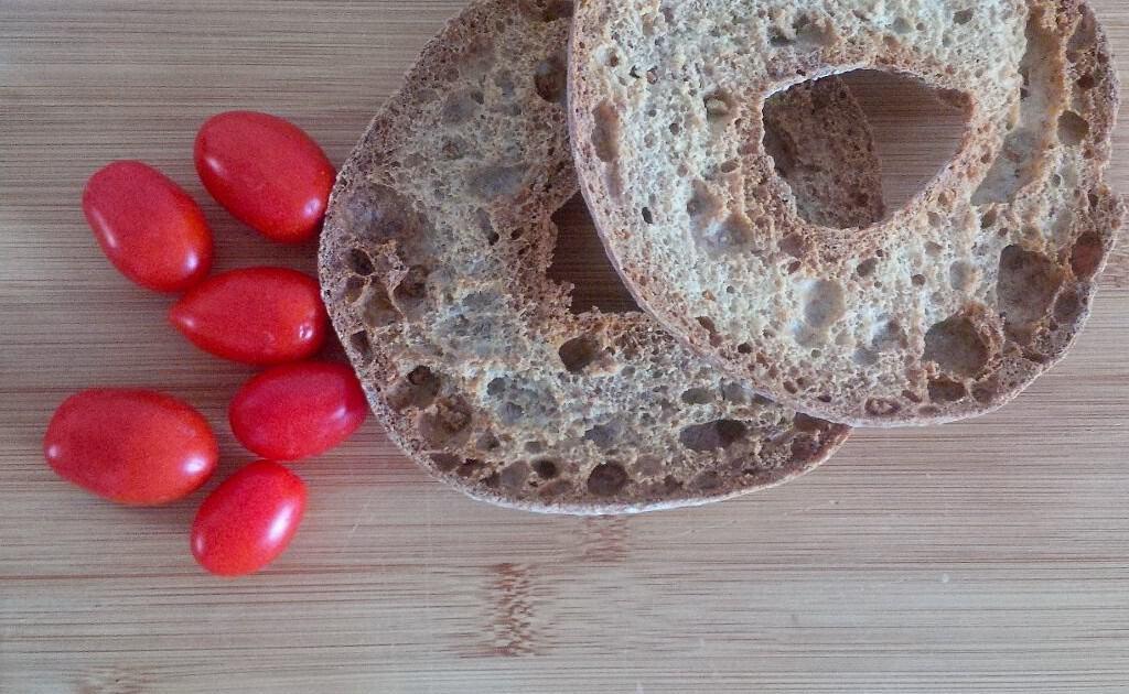 Pão típico para dakos