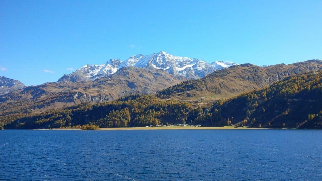 Lago Silsersee, logo depois do Passo Maloja.