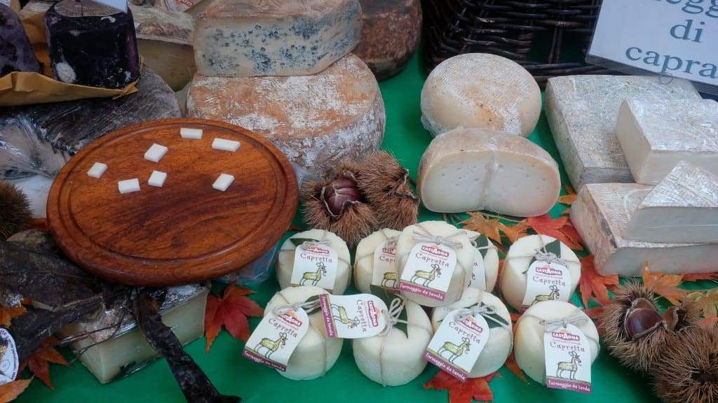 Produtos gourmet nas feiras de Milão