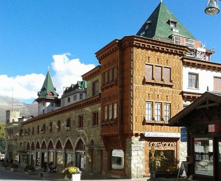 Centro de Sankt Moritz