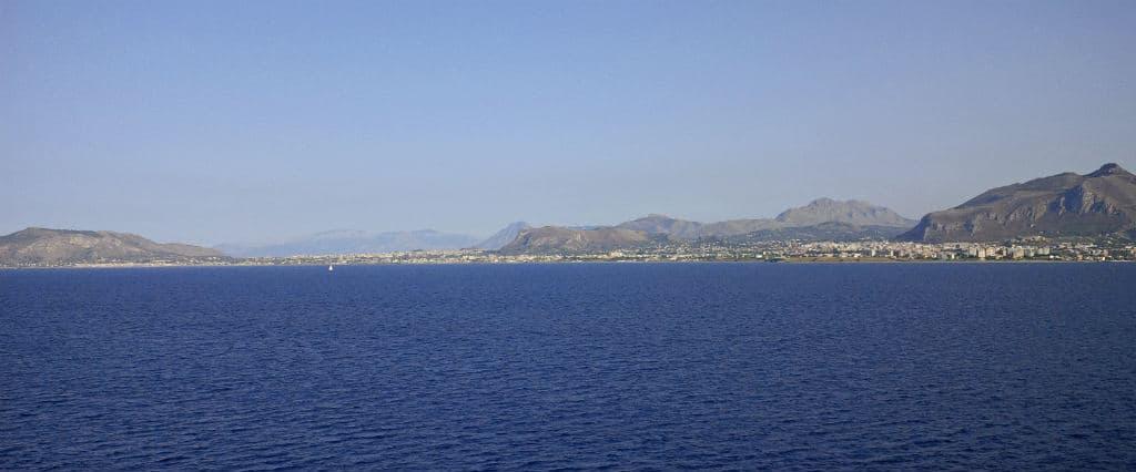 Vista panorâmica de Palermo