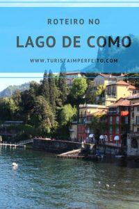Roteiro no Lago de Como