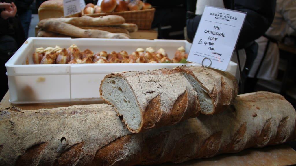 Pães no Borough Market