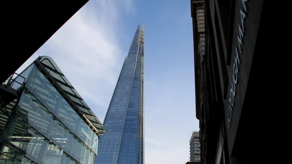 The Shard e o Borough Market