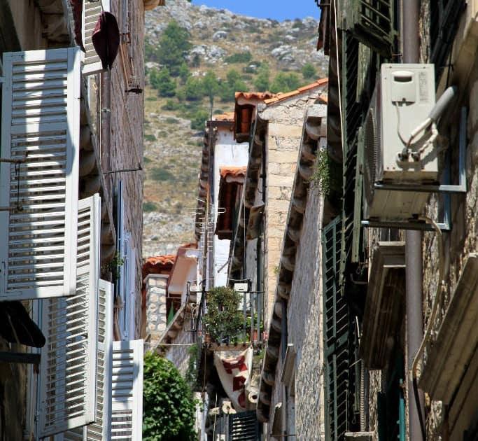 Dubrovnik fachadas