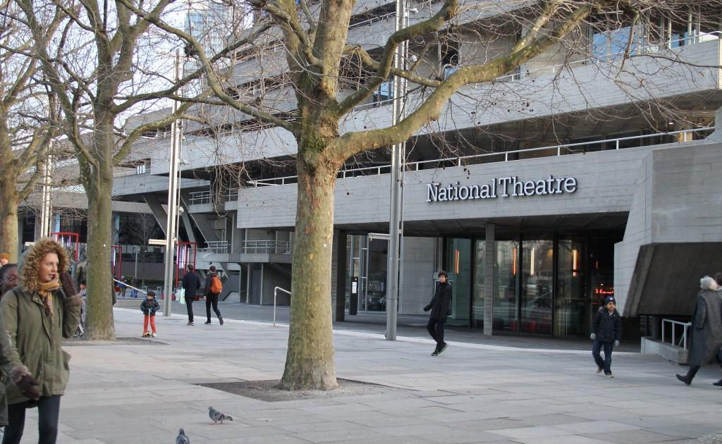 Roteiro em Southbank-National Theatre