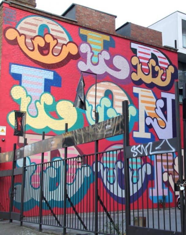 street art - ben eine
