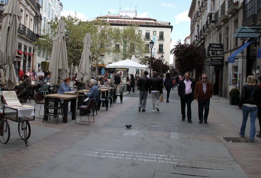 Movida de Madri - Calle de las Huertas