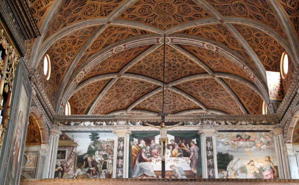 igreja de san maurizio - cupula