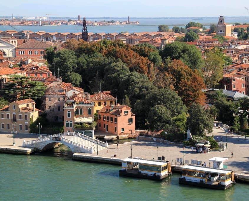Roteiro em Veneza - Giardini