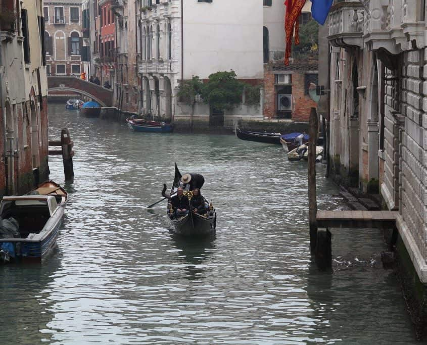 Roteiro em Veneza - gondola