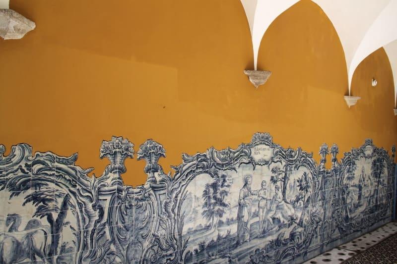 convento santo antonio - azulejos