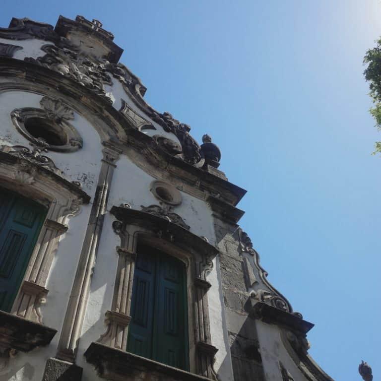 igreja de santo antonio - fachada
