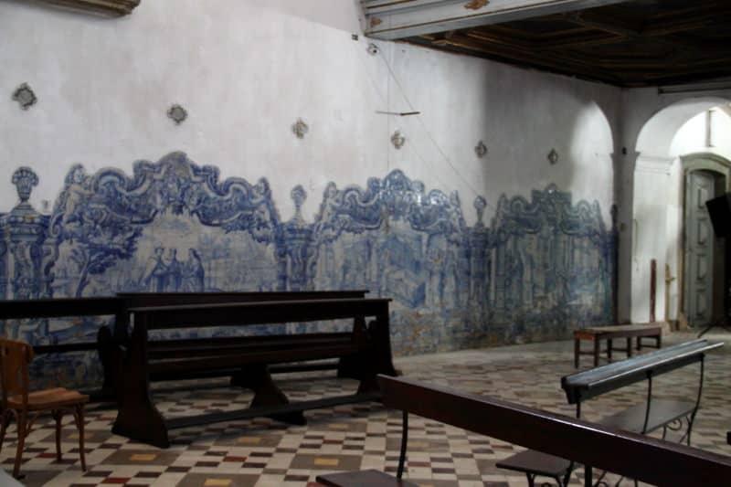 igreja de santo antonio ; azulejos