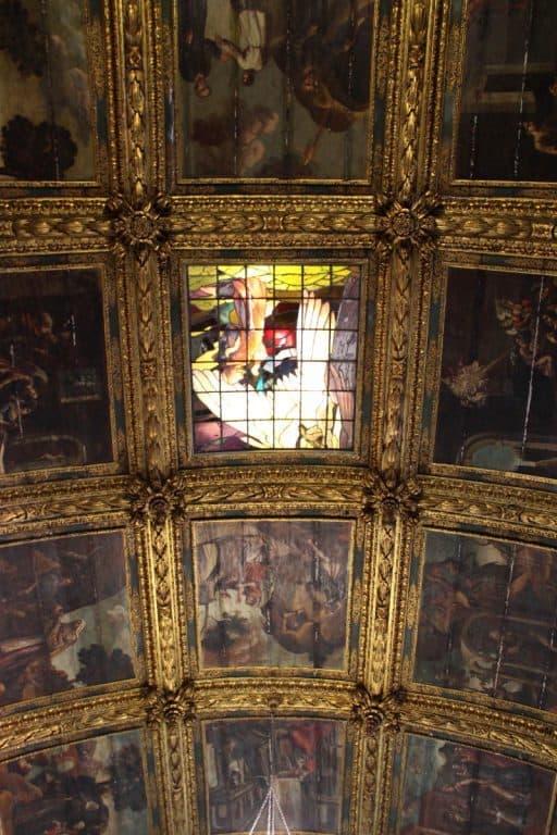 teto da capela dourada