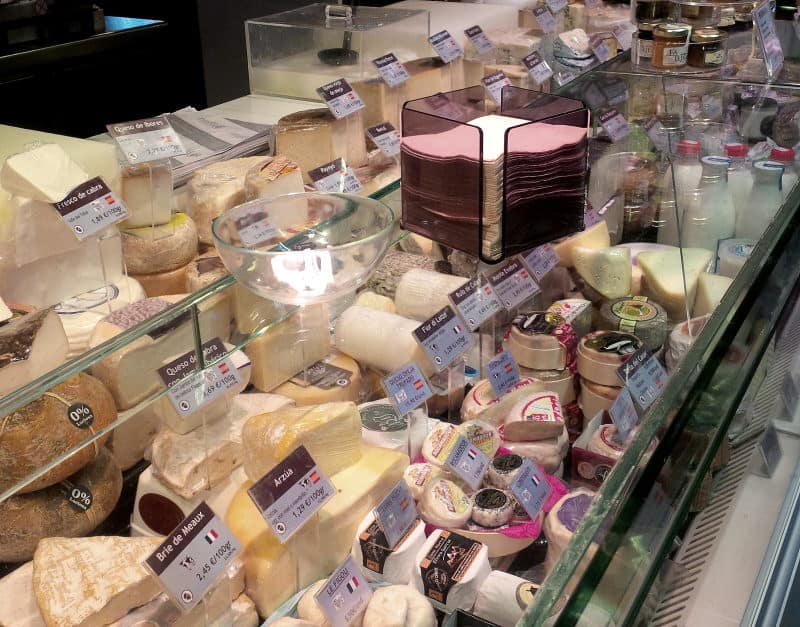 mercado de san anton - queijos