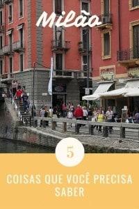 5 coisas sobre Milão