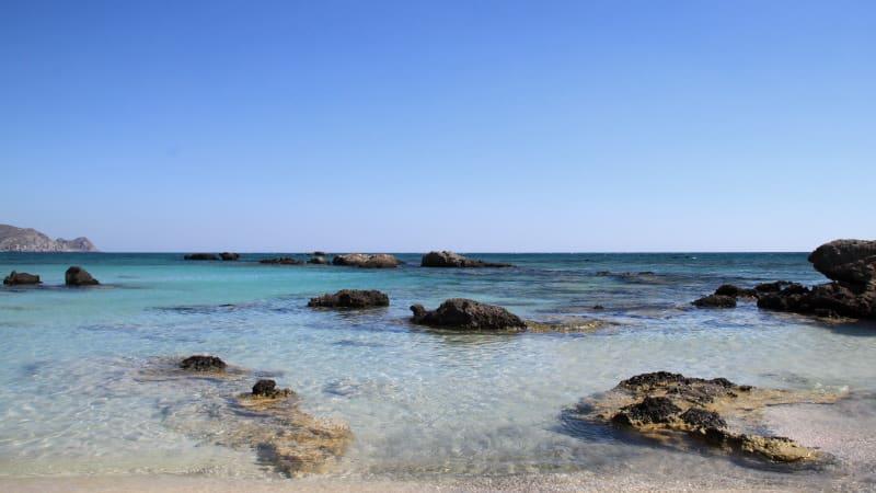 Elafonissi - praia
