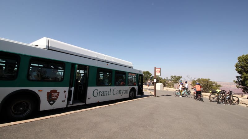 Grand Canyon - transporte