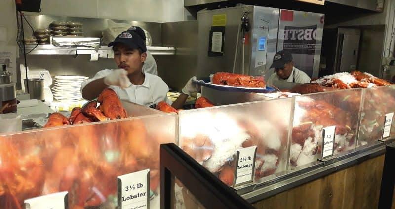 Chelsea Market - lagostas