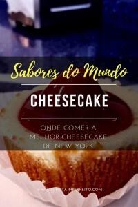Cheesecake em NY
