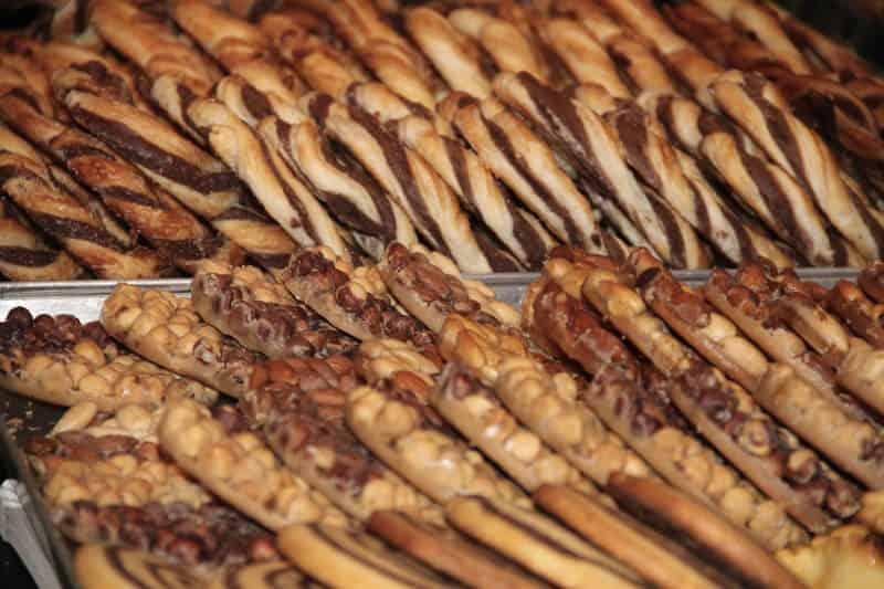 Docinhos e biscoitos típicos tiroleses