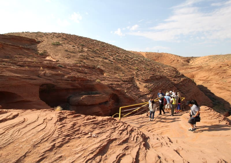 Entrada do Lower Antelope Canyon