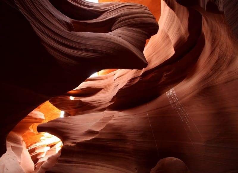 como fotografar o Antelope Canyon