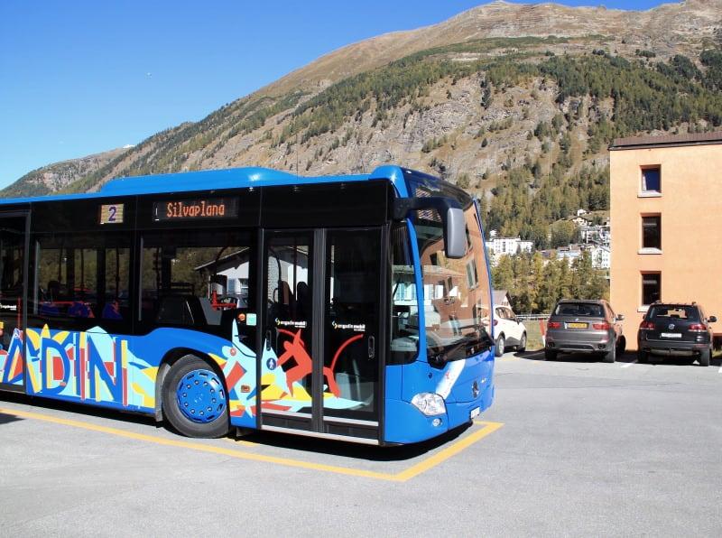 Serviço de ônibus da Engadina