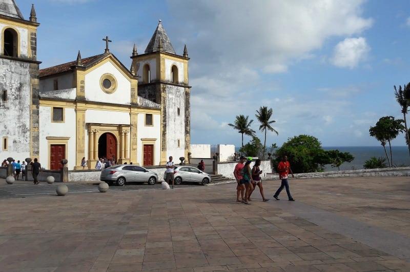 Igreja da Sé e a vista do mar