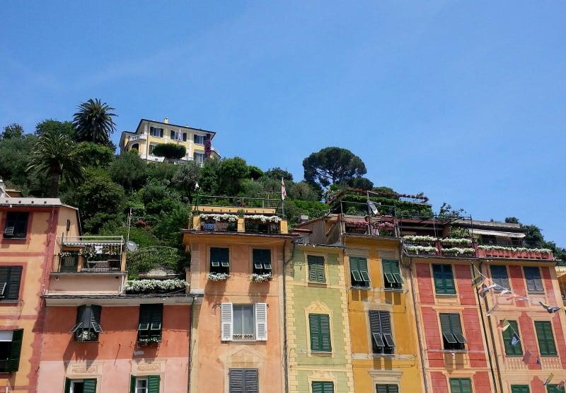 Fachadas de Portofino