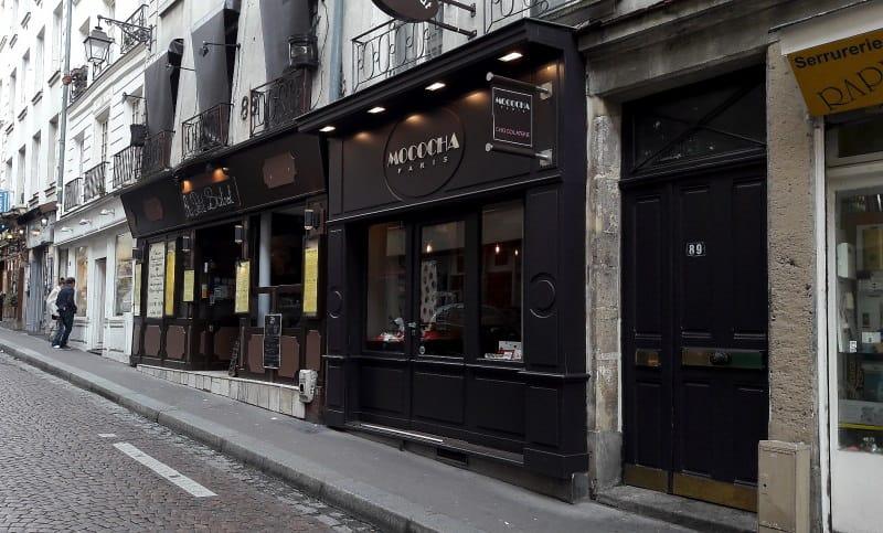 ruas gastronômicas em Paris