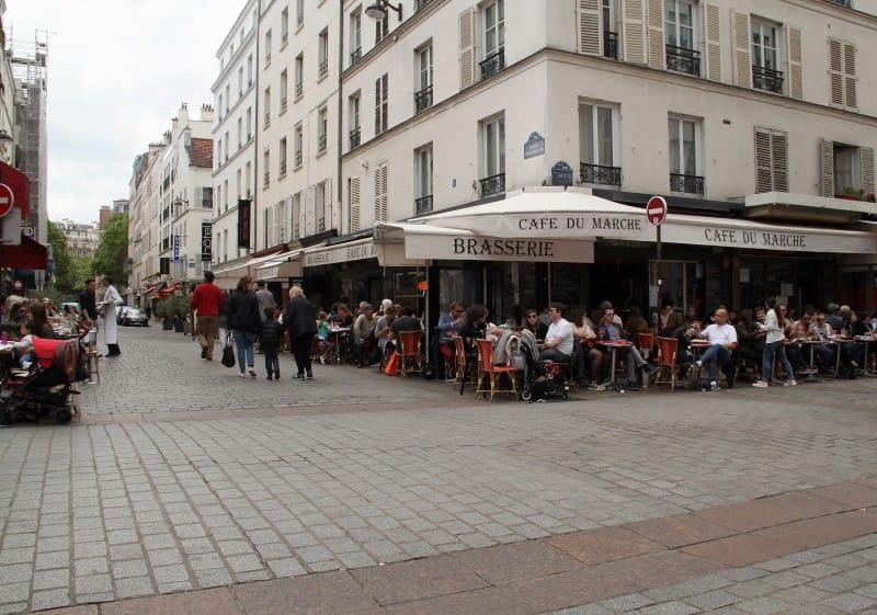 ruas gastronomicas em paris