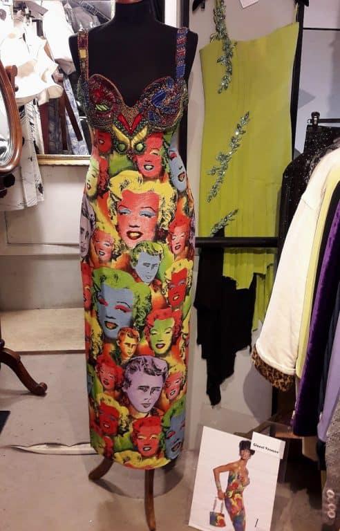 Vestido vintage Gianni Versace