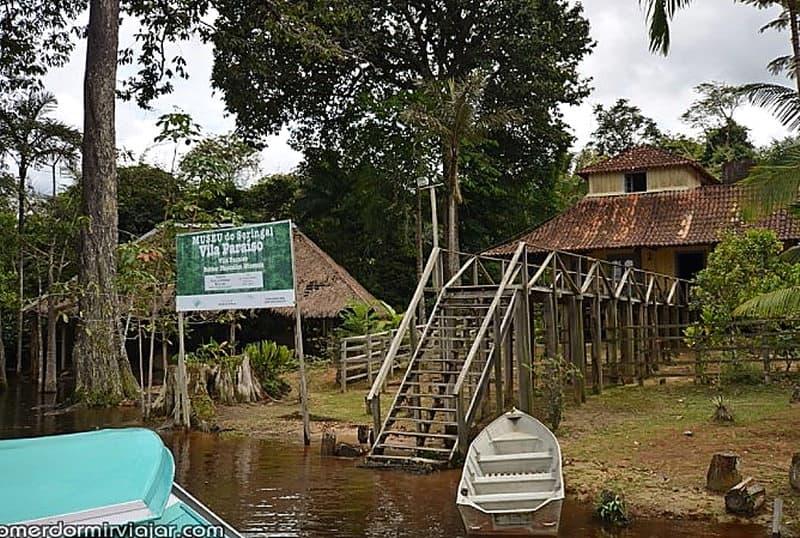destinos fora do radar no Brasil-Museu do Seringal
