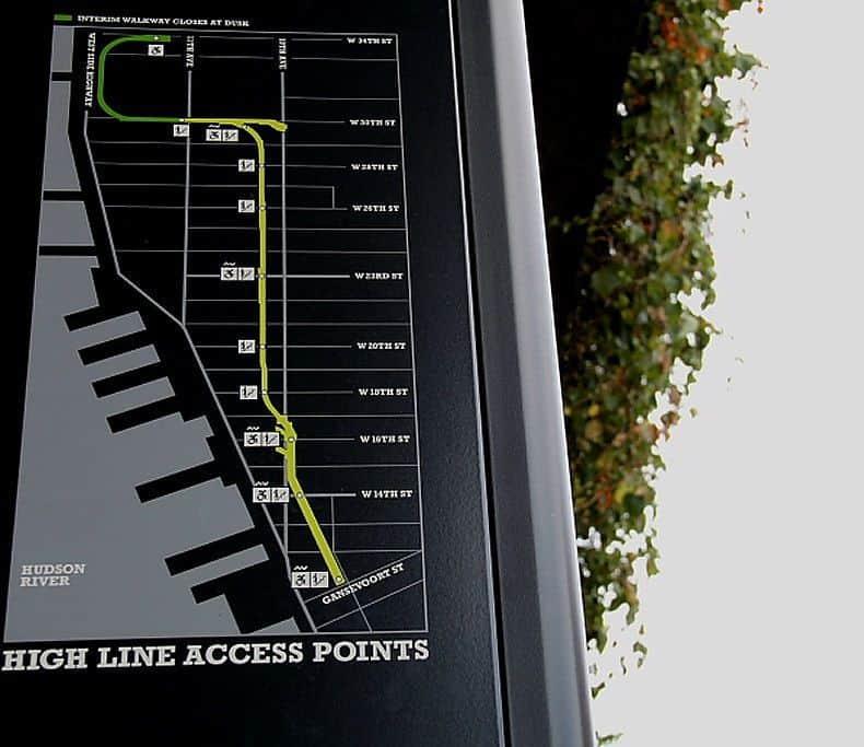 Acessos do High Line