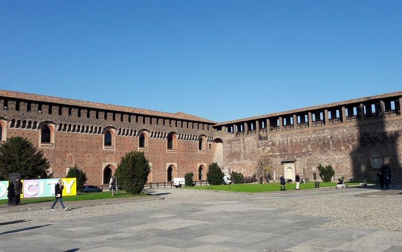 visita ao Castelo Sforzesco