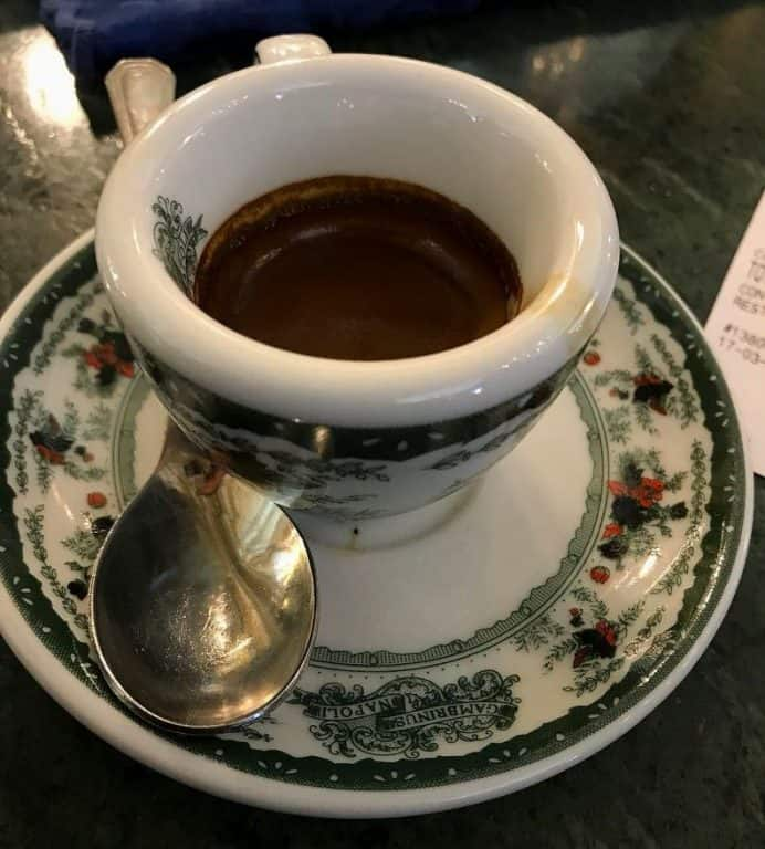 melhores cafeterias de Nápoles