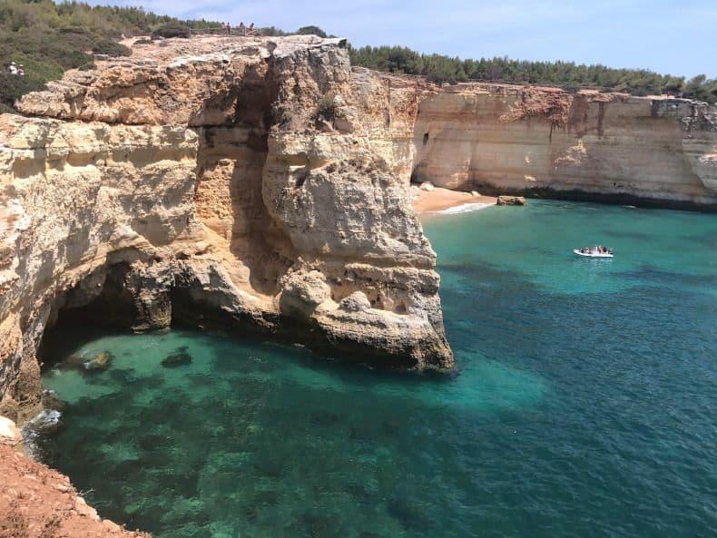 falésias do Algarve