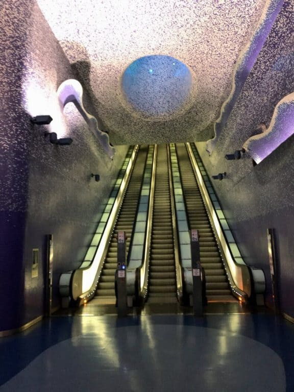 metrô de Nápoles