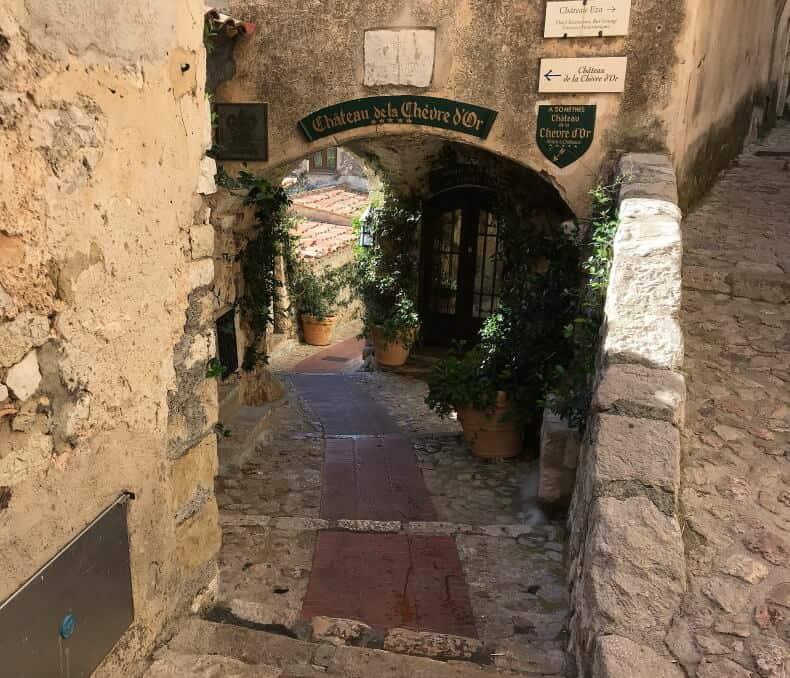 vilarejo de Èze