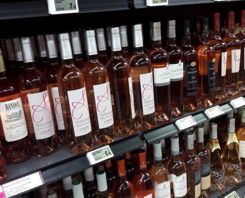 vinho rosé da Provença